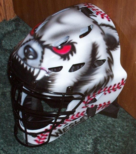 Custom Painted Baseball Catchers Mask