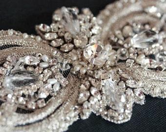 Wedding Sash belt -  Italia 10 inches  (Made to Order)