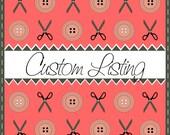 Custom listing for helicopter burp cloth desgin