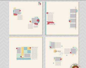 Scrapables 12x12 Templates