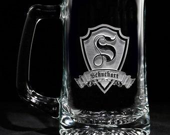 Engraved Groomsmen Gifts, Beer Mugs (M30)