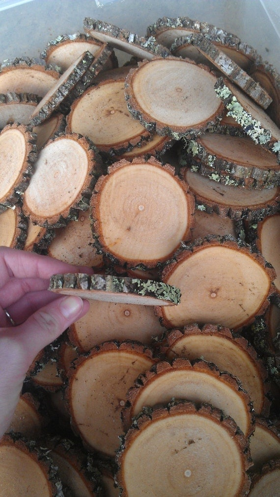 50 Rustic Wedding Wood Tree Slices Decor by ...