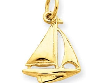Sailboat Pendant (JC-820)