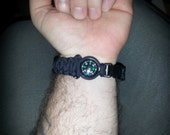 Custom Paracord Bracelet With Compass
