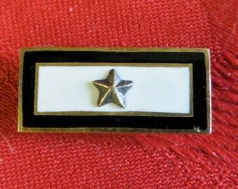 Original 1940's World War II US Gold Star Mother's 10 kt Gold Pin - Free Shipping