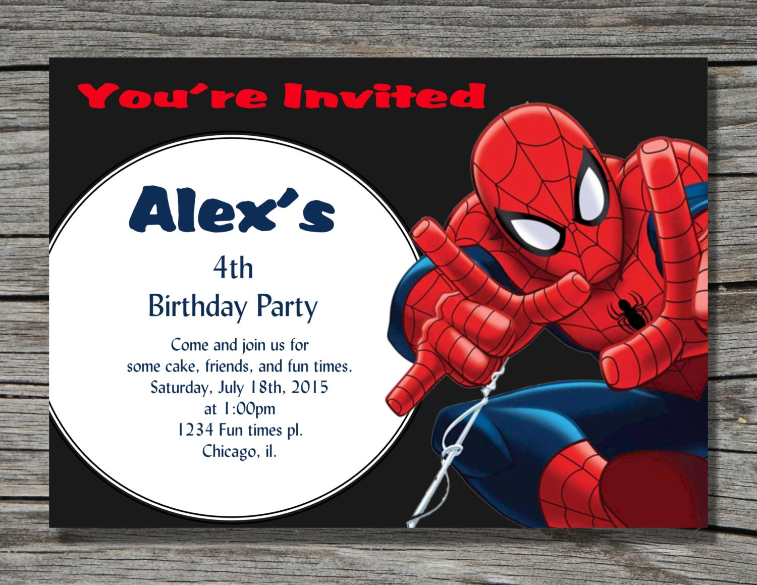 It's just an image of Enterprising Printable Spiderman Invitations