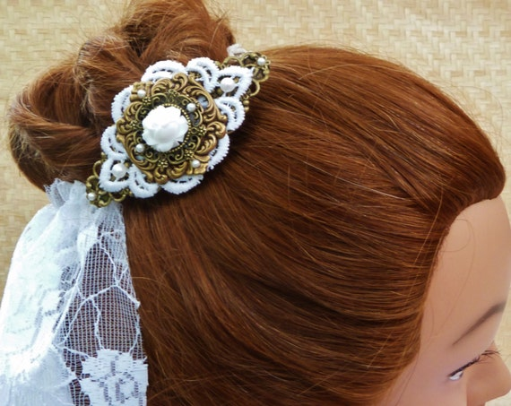 Wedding Hair Accessory from Etsy