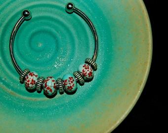 Round Tin Bracelet
