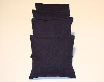 Navy Cornhole Bags