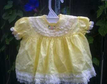 Babies' Vintage Summer Shirt and Bloomers - Sm