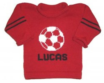Personalized Soccer Sweater for Children