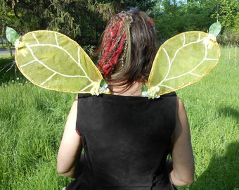 Faerie Wings Yellow Daisy NEW LOWER PRICE