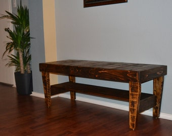Reclaimed Wood Bench FREE Shipping