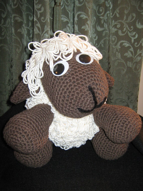 Crochet Lamb Amigurumi Plush Toy
