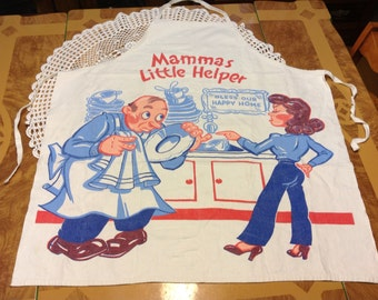 1950's Mama's Little Helper Apron