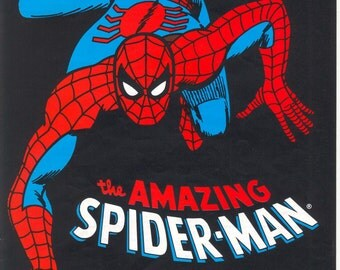 Spiderman Intarsia Knitting Pattern