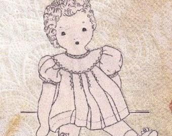 The Baby Doll Vintage Pattern - Photocopy