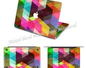 "Imagic Macbook Pro 13"" top decals macbook air keyboard skin macbook pro bottom decal 3M macbook decals sticker 3M mac decals Mac Decal"