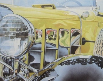 Just Like New - Classic Car Prints - Classic Car Art - Hot Rod Car Art - Vintage Car Art