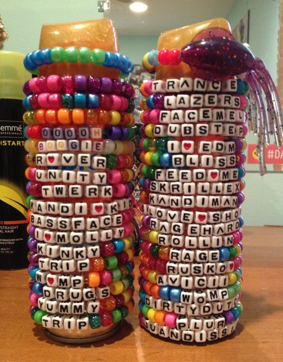 Custom Rave Kandi Bracelet Package