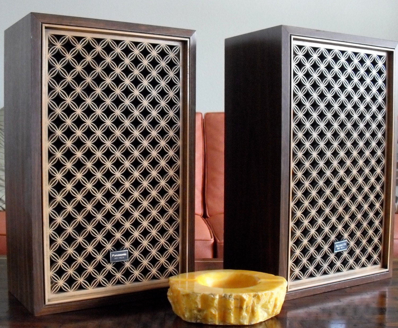 Vintage Panasonic Sb 150a Speakers Pair