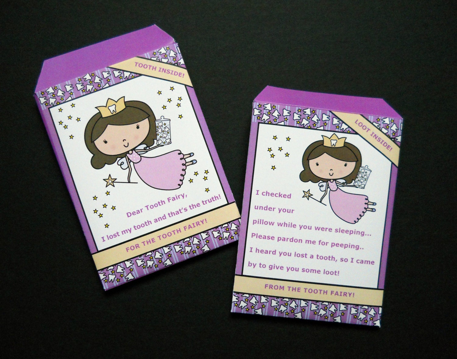 Tooth Fairy Envelope Free