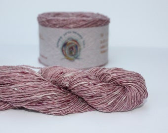 Spinning Yarns Weaving Tales - Tirchonaill 541 Baby Pink 100% Merino for Knitting, Crochet, Warp & Weft