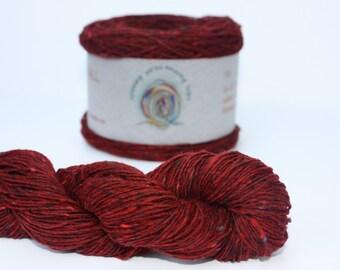Spinning Yarns Weaving Tales - Tirchonaill 524 Red 100% Merino for Knitting, Crochet, Warp & Weft