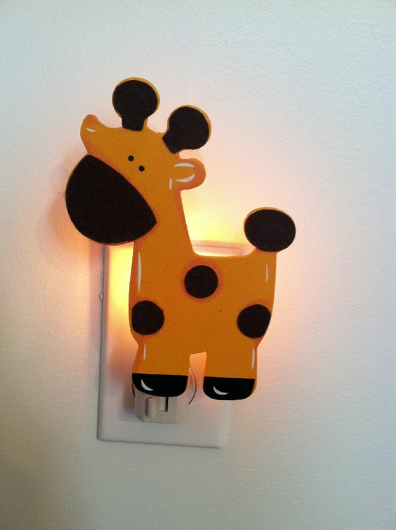 Items Similar To Giraffe Night Light Baby Gift Baby