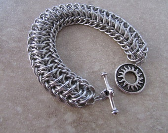 Chainmaille Tunnel Bracelet