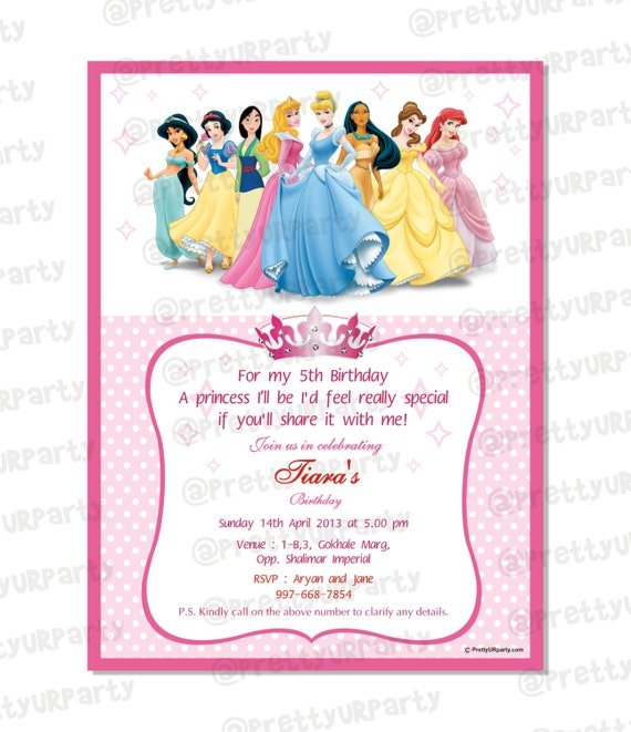 Disney Printable Invitations for best invitations layout