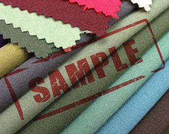 Fabric Sample Color Swatches