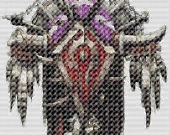 World Of Warcraft Inspired Crests - Horde