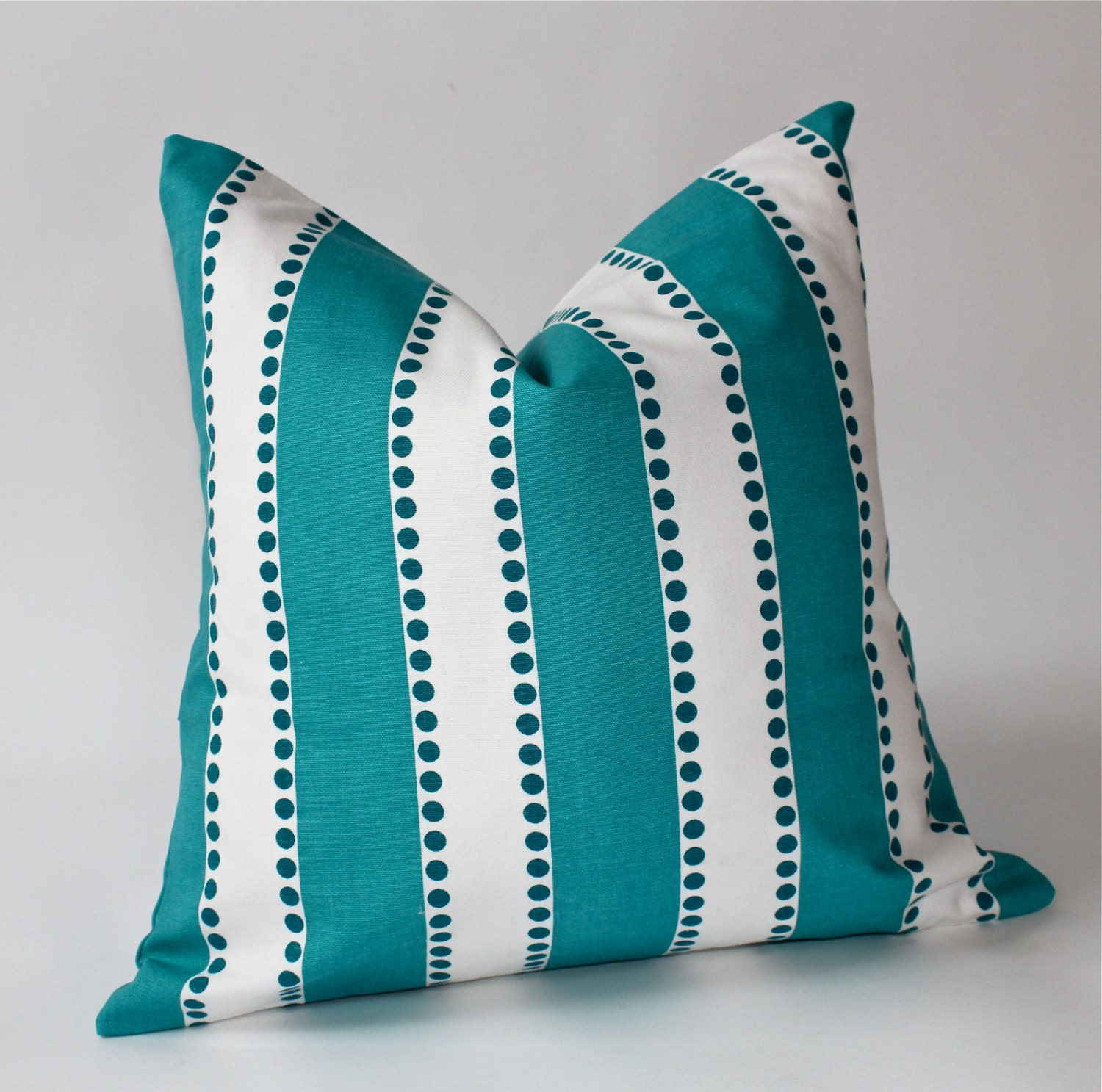 Throw Pillow Covers 18 Inches : 18 x 18 inch Decorative Pillow Cover Aqua by ThePillowPalette