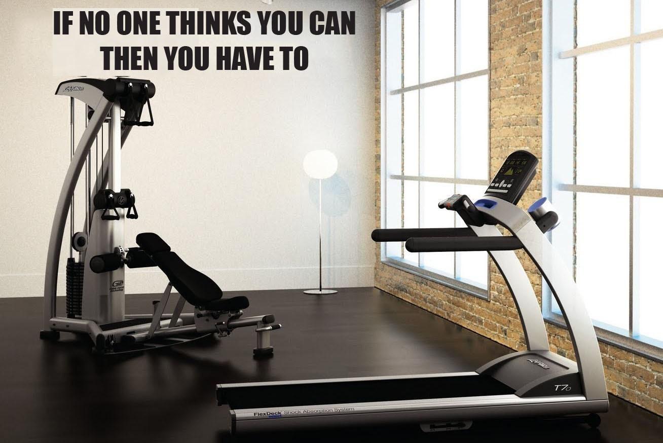 Home gym essentials if no one thinks you