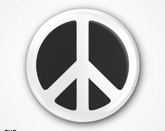 Peace symbol Badge 2.5cm