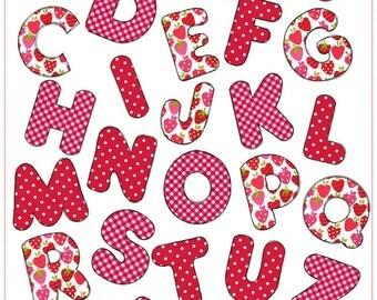 Doodles ABC - Machine Embroidery designs
