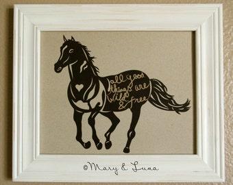 Horse- 8x10 Digital Print