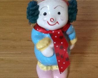 Snow Christmas clown