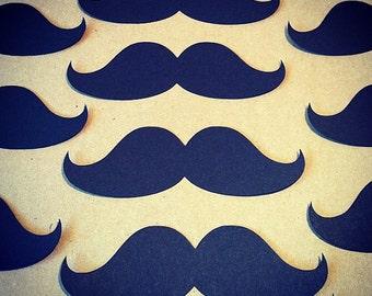 FREE SHIP-100 Mustache Cut Outs