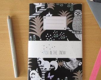 Cahier imprimé Forêt