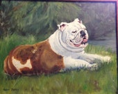Large Art Portrait Painting, Oils on Canvas, 16 x 20 Custom from photos