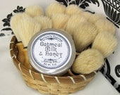 Oatmeal Milk and Honey Shaving Soap  - Made in Martinsville