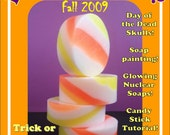 Halloween Issue - Skulls, Candy, and Day Glo - Lets Get Soapy eZine for glycerin soap crafting - Issue 4