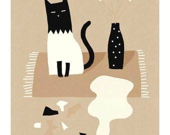 Miko Sorry / Art Print / A3 / A4 / A5 / Fine art paper