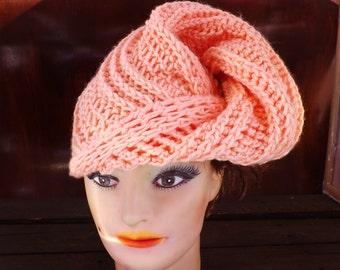 Crochet Pattern Hat,  Womens Hat Pattern,  Womens Crochet Hat Pattern,  Turban Pattern,  Deitra Turban Hat
