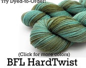 Dyed to Order - BFL HardTwist - Hand Dyed Yarn