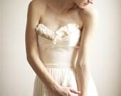 Alice- Silk Chiffon Wedding Gown