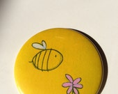 Bee Button Magnet