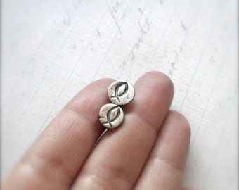 Little Fish Sterling Silver Stud Earrings - Made to Order
